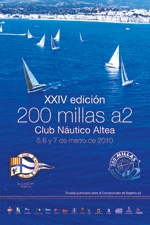 Yacht Race - 200 millas a 2 de Altea