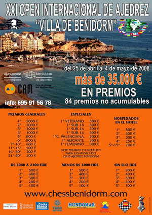 International Chess Open - Benidorm