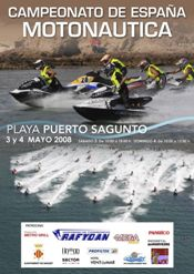 Jet Ski Competition in Sagunto